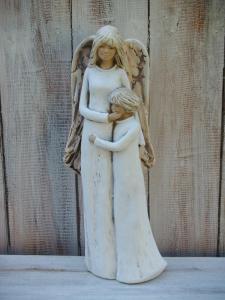 Anděl - víla stojící pár