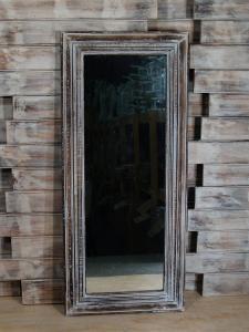 Zrcadlo s rámem 50x115 cm