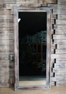 Zrcadlo s rámem 75x165 cm