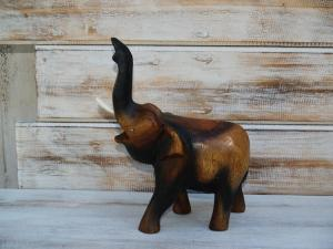 Slon s chobotem nahoru