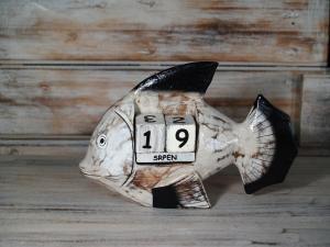 Kalendář rybka - výška 12x18 cm