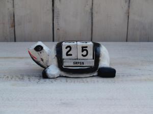 Kalendář želvička - výška 7x13 cm