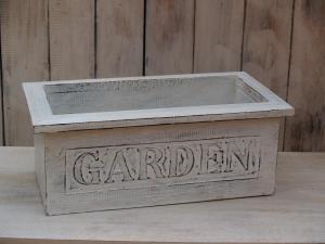 Truhlík garden - výška 18x50x20 cm
