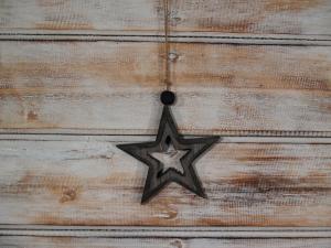 Závěska hvězda ( set 5 ks )