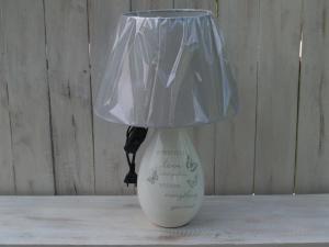 Keramická lampa