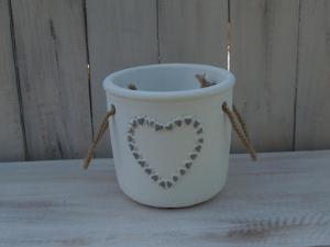Obal keramika - průměr 15x14 cm