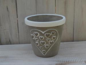 Obal keramika - průměr 17x16 cm