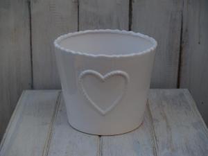 Keramický obal - průměr 16x13 cm