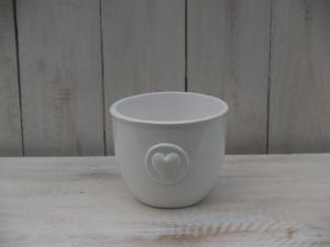 Keramický obal - průměr 11,5x9,5 cm