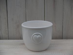 Keramický obal - průměr 14x11,5 cm