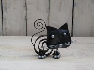 Kočka spirála - výška 10 cm