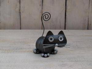 Kočka váleček - výška 8 cm